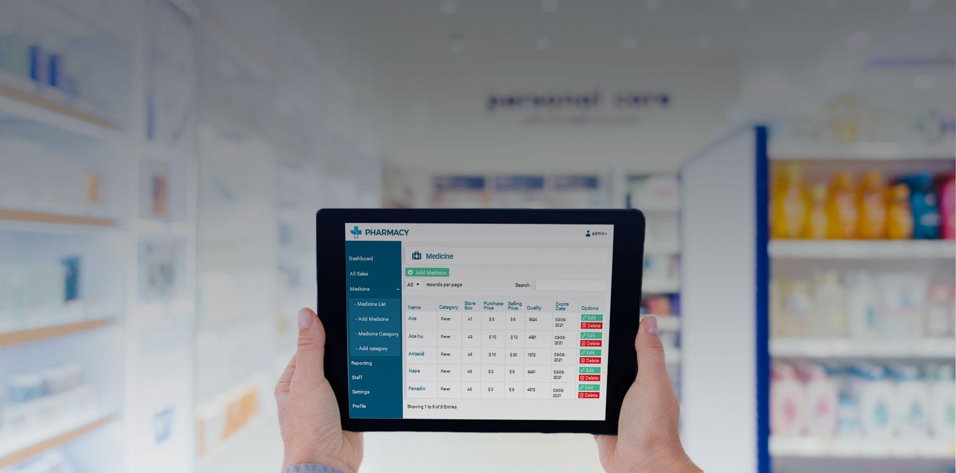 Pharmacy Management System