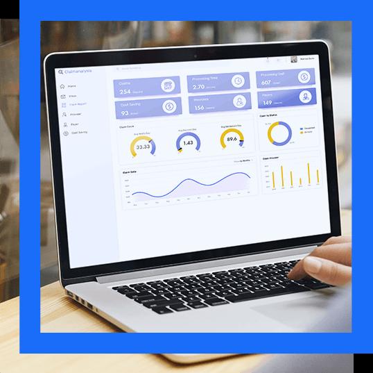 Hipaa compliant software dashboard