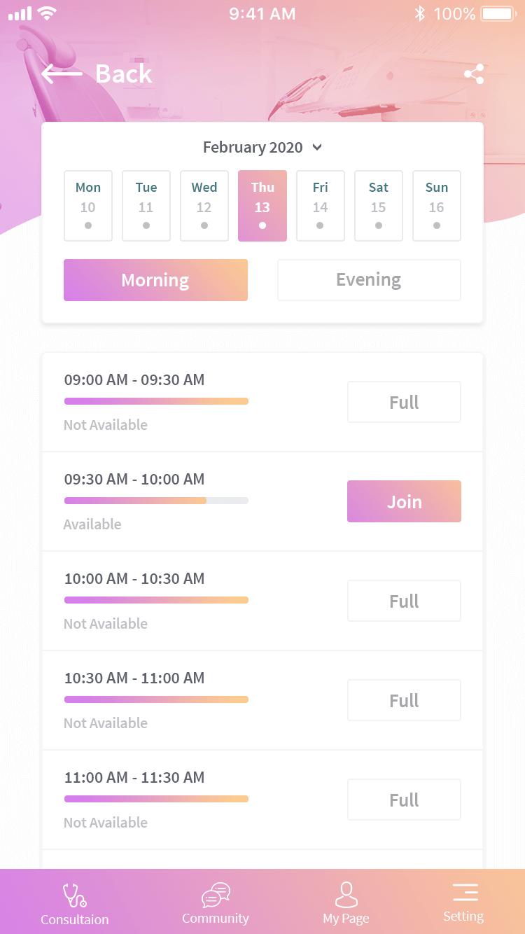Doctor Scheduling Dashboard