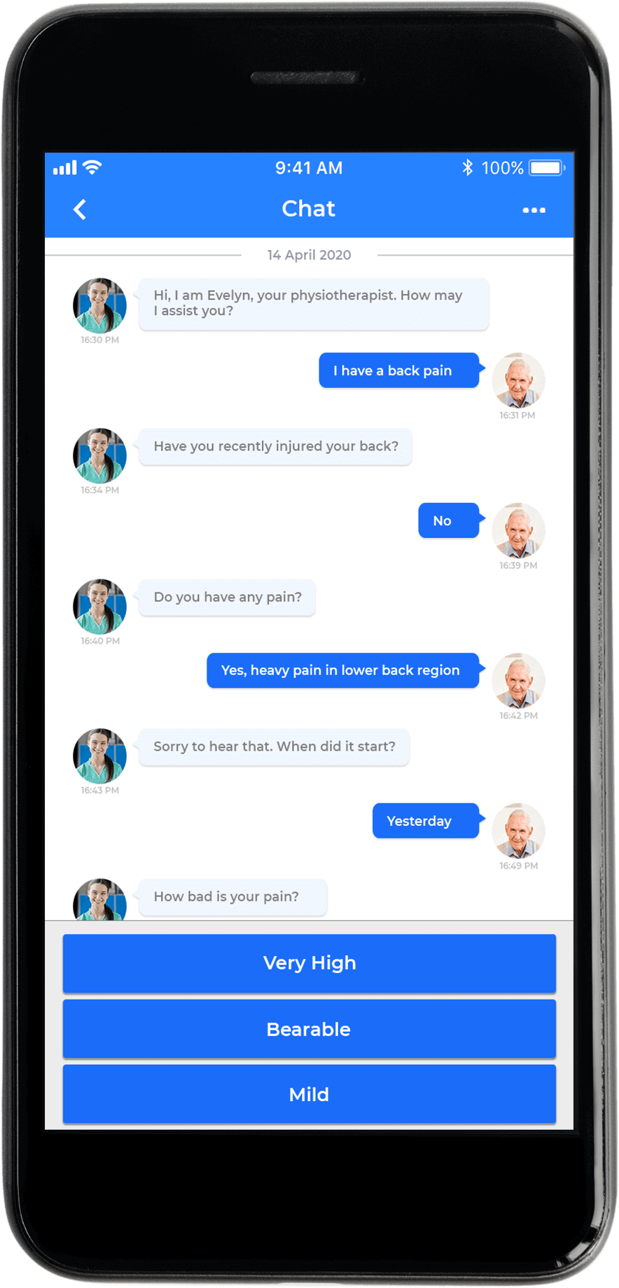Telehealth Chatbot